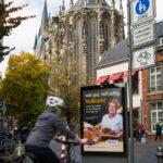 City Light Vitrine in Aachen