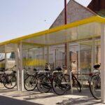 Fahrradüberdachung FX, 16 Fahrräder
