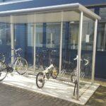 Fahrradüberdachung FX mit Bügelparker Clamp