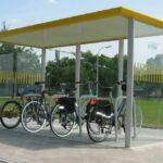 Fahrradüberdachung FX in RAL-Farbe