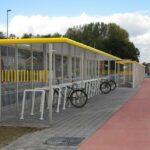 Fahrradüberdachung FX, Reihenanlage