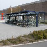 Fahrradüberdachung Ala in RAL-Farbe