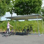 Fahrradüberdachung Budget, offen