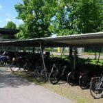 Fahrradüberdachung Budget, Reihenanlage