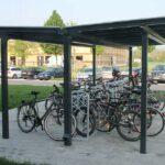 Fahrradüberdachung Casa doppelseitig