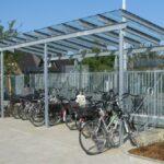 Fahrradüberdachung Casa (feuerverzinkte Ausführung)