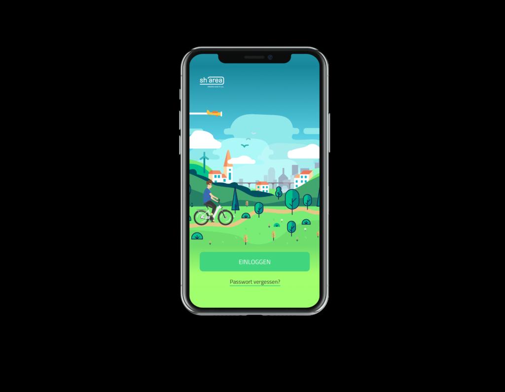 App - Startbildschirm