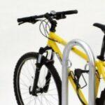Anlehnparker Track mit Fahrrad