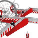 Doppelstockparker EasyLift 500D Radeinstellung oben