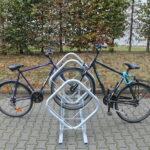 Bügelparker Prisma doppelseitig, 2 Fahrräder